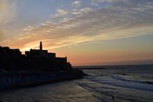 Sunset View Of Tel Aviv Old Ci...
