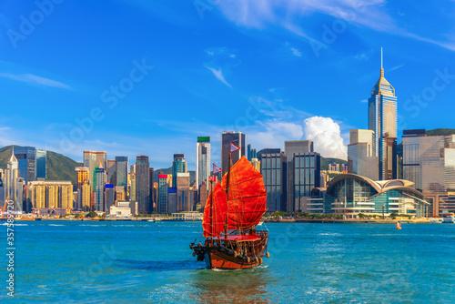Fototapeta Hong Kong city