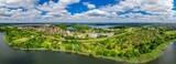 Fototapeta Miasto -  Olsztyn-miasto na Warmii w północno-wschodniej Polsce