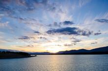Sunset Over Lake Pukaki