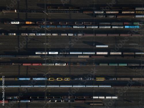 Obraz Rangierbahnhof SChlieren - fototapety do salonu
