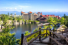 Scenic View Of Mohonk Mountain...