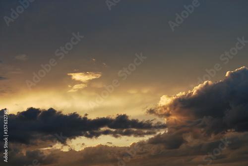 zachód słońca Canvas