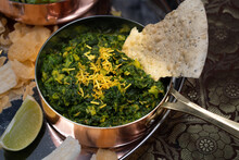 North Indian Vegan Spinach And...