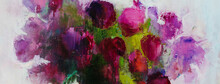 Abstract Painting Background. ...