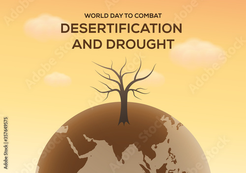 Tela world day to combat desertification and drought poster