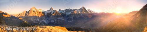 Fototapeta Chamonix Mountain Peaks obraz