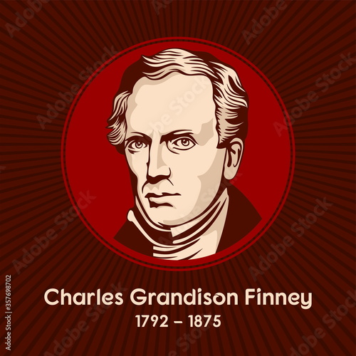 Cuadros en Lienzo Charles Grandison Finney (1792-1875) was an American Presbyterian minister and leader in the Second Great Awakening in the United States