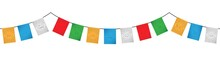 Colorful Tibetan Flags Decorat...