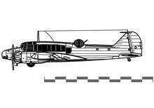 Avro Anson. World War 2 Multir...