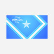 vector illustration of indepedence somalia day vector icon