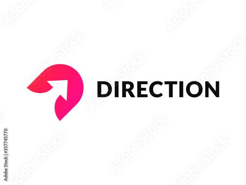 Fotografia Direction Logo Design