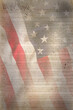 Leinwandbild Motiv Flag USA as a patriotic background