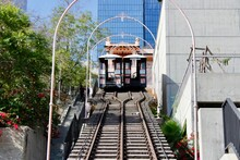Angels Flight Railway In Los A...