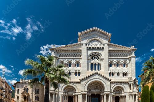 Monaco Cathedral in Monaco-Ville