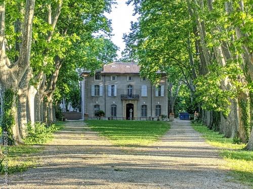 Bastide jas du bouffan Aix en provence, peiture paul cézane peintre art Fototapeta