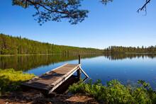 Very Beautiful Lake Landscape ...