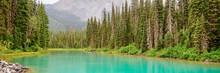 Panorama Of Emerald Lake Near ...