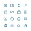 Editable 16 open icons for web and mobile