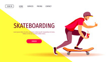 Web Page Design For Skateboard...
