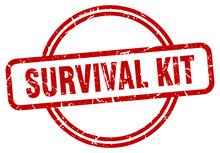 Survival Kit Grunge Stamp. Sur...