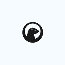 Marmot Logo. Guinea Pig Icon