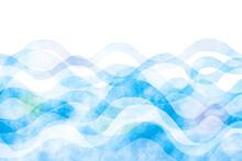 抽象的なウェーブ 水...