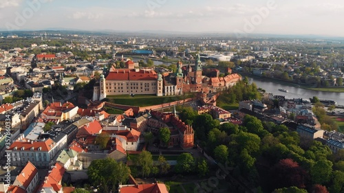 Fototapety, obrazy: Krakow, Poland. Wawel royal Castle and Cathedral. High quality photo