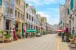 Haikou Qilou Old Street (Zhongshan Road) , a Historical and Cultural Tourist Atrraction in Haikou City, Hainan Province, China.