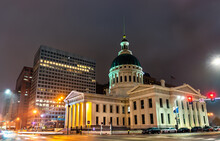 The Old Courthouse In St. Louis - Missouri, USA