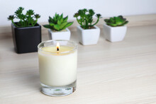 Aromatic Scent Glass Candles A...