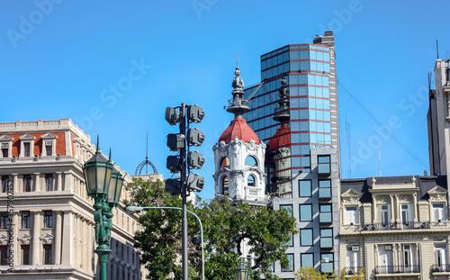Detalhes da arquitetura argentina, em Buenos Aires Canvas Print