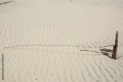 Fototapeta Dunas  do litoral do Rio  Grande do Sul, Brasil.