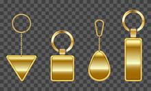 Golden Keychain, Holder Trinke...