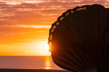 Sunrise At The Aldeburgh Scall...