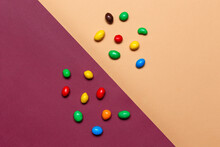 Colorful Chocolate Buttons On ...