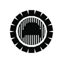 Car Logo With Tire Symbol And ...