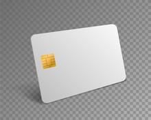 Blank Credit Card. White Reali...