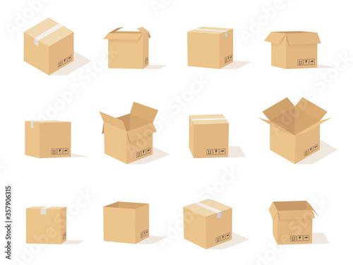 Foto Carton boxes