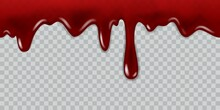 Dripping Blood. Current Red Li...