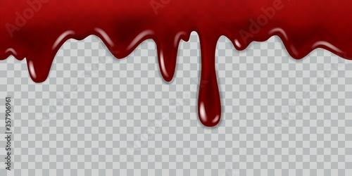 Fotografering Dripping blood
