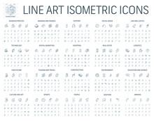 Vector Illustration Of Isometr...