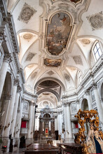 Interior Of The Cathedral Of S...
