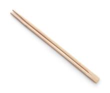 Top View Of Disposable Wooden Chopsticks