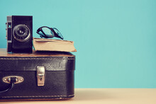 Blogging And Travelling Backgr...