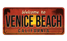 Welcome To Venice Beach Vintag...