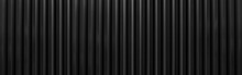 Panorama Of Black Corrugated M...