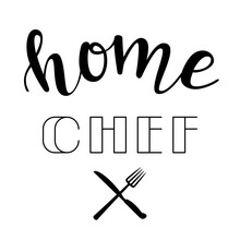 """Home Chef"" Hand Drawn Vector ..."