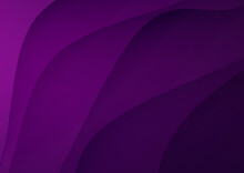 Abstract Purple Wavy Vector Background