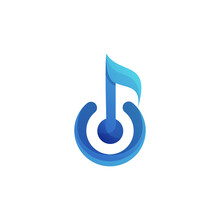 Awesome Music Notes Gradient Illustrator